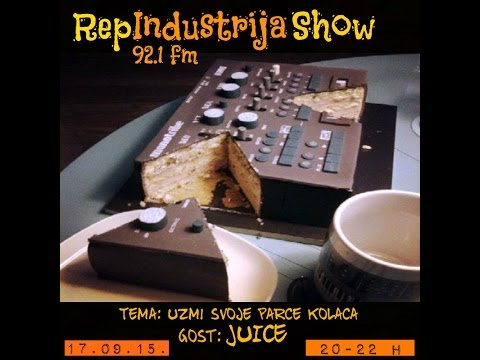 RepIndustrija Show - Juice / Intervju (Official)
