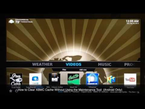 How to Clear KODI Cache Without Using the Maintenance Tool (Android Only)