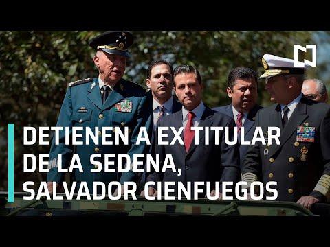 Detienen a Salvador Cienfuegos, ex secretario de la Defensa Nacional - Hora 21