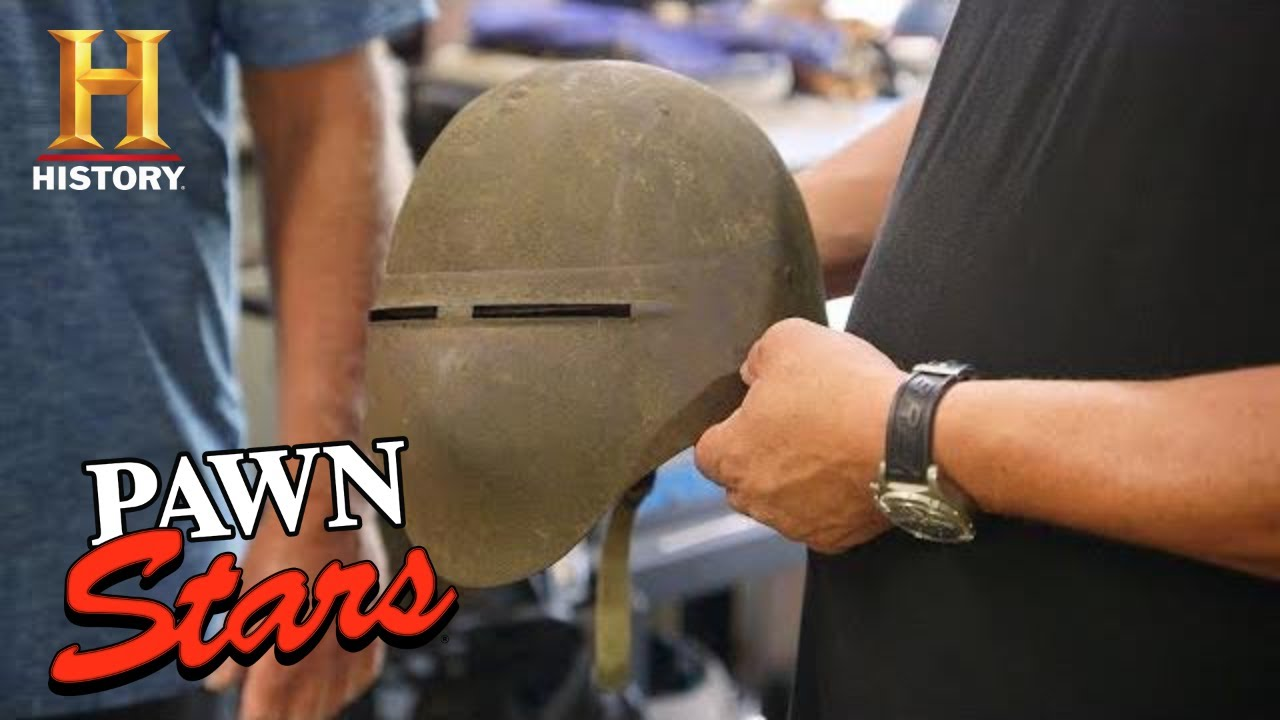 Pawn Stars: BIG GAMBLE = HUGE PROFIT for Mystery WWI Helmet (Season 17) | History
