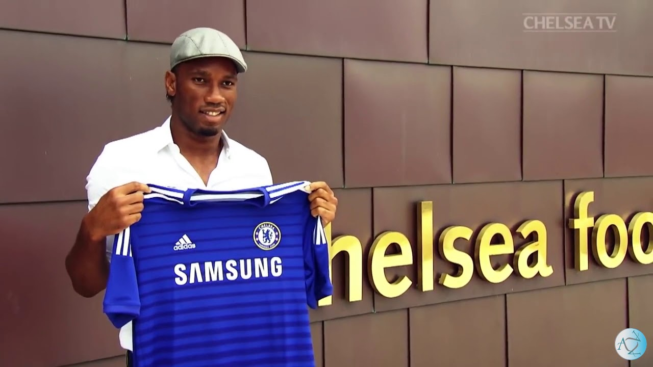 26675bc9d Didier Drogba - A legend Chelsea will never forget! - YouTube