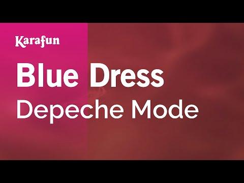 Karaoke Blue Dress - Depeche Mode *