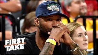 lakers-demarcus-cousins-suffers-knee-injury