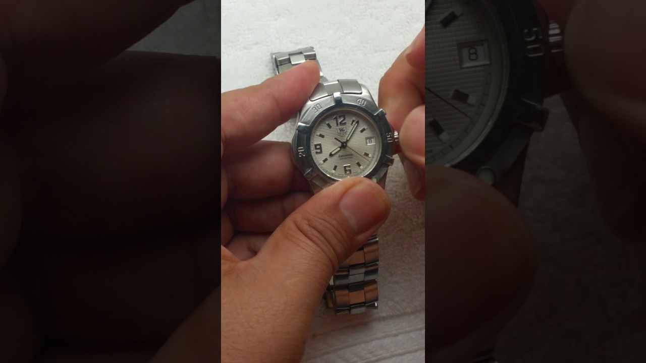 Tag Heuer Automatic 200 Meters - YouTube