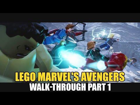 Lego Marvel's Avengers Walk-Through Part 1: Age Of Ultron [ Struck Off The List ]