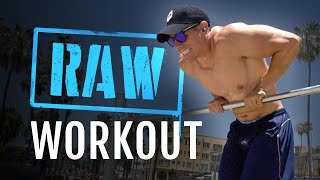 Raw Upper Body Workout – The Finisher is CRAZY!
