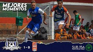 ARCO ZARAGOZA 1 - 0 Talentos Envigado | MEJORES MOMENTOS | LAF SUB 15A Primera Fase