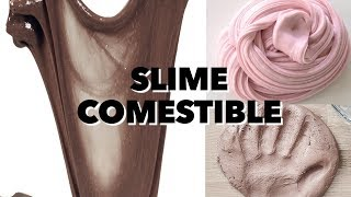 SLIME COMESTIBLE. EXPECTATIVA/REALIDAD