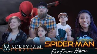 SPIDER-MAN: FAR FROM HOME - Official Teaser Trailer- REACTION and REVIEW!!!