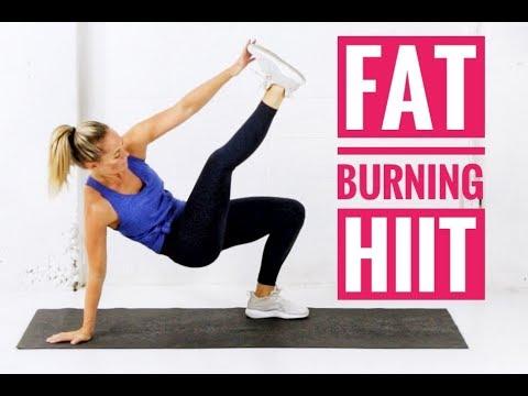 fat burning hiit workout // no equipment  no repeats
