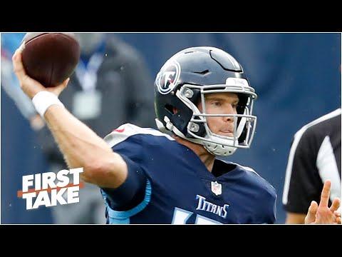Is Ryan Tannehill a legit NFL MVP candidate? First Take debates