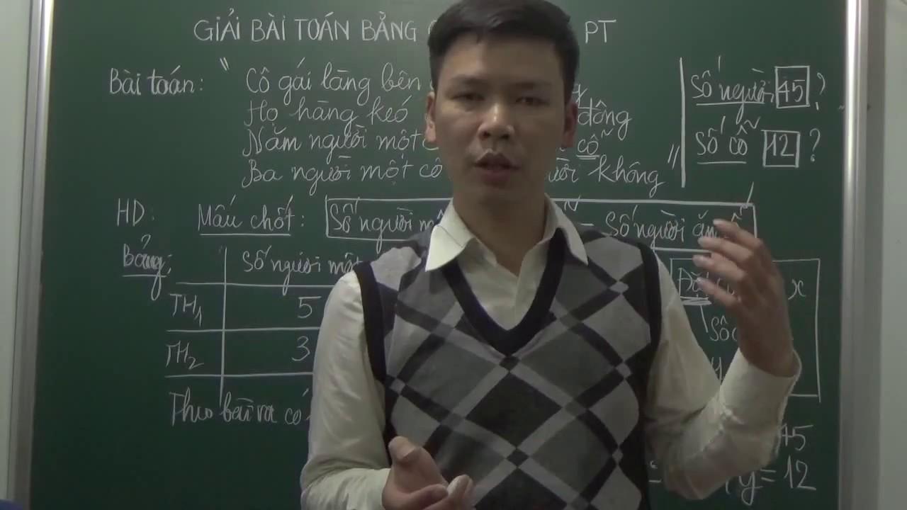 [Toán 9] Giải bài toán bằng cách lập hệ phương trình