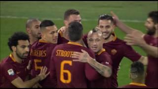 Il gol di Dzeko - Roma - Torino - 4-1 - Giornata 25 - Serie A TIM 2016/17