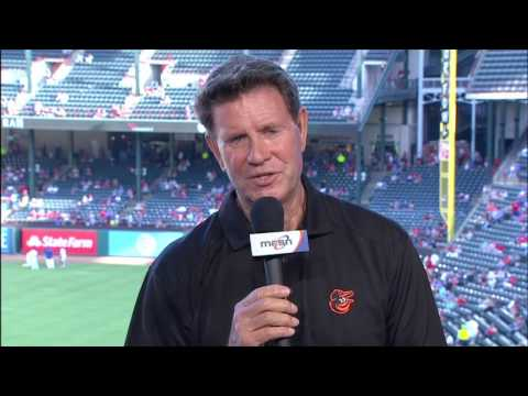 Jim Palmer on the Orioles returning to Texas for the one-game series