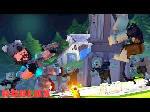 ALIEN VS ZOMBIE ATTACK!! | ROBLOX Zombie Rush