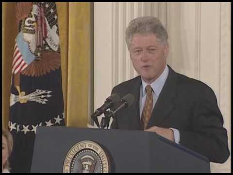 1999 Presidential Medal of Freedom Presentation