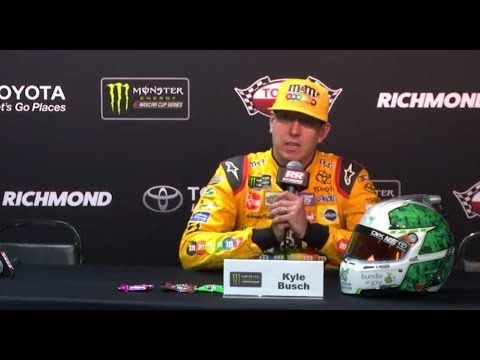 Kyle Busch on whether he or Harvick is the car to beat