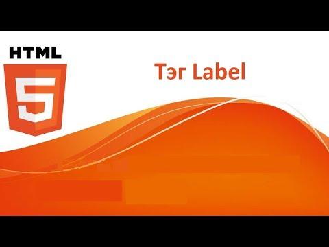 Как работать с тегом Label в HTML5?