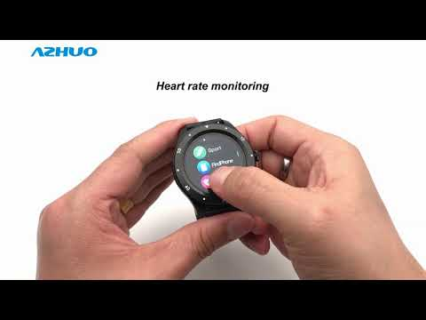 2020 New Smart Watch S6 With Heart Rate Monitor Full Circle Full Touch Screen Smartwatch Review