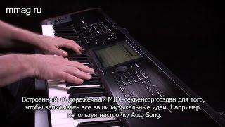 KORG KRONOS 2 (2015) – видео инструкция. Раздел 7: Cеквенсор и Эффекты.