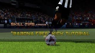 "FIFA 14 Next Gen | ""Rabona Free Kick"" Skill Tips episode.1"