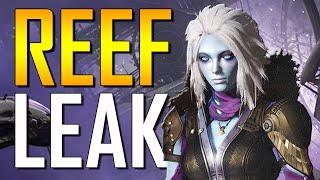 destiny reef leak