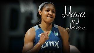 Maya Moore Mix Basketball