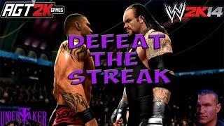 AGT - ИГРАЮ В РЕЖИМ DEFEAT THE STREAK В WWE 2K14! (Попытки побить стрик Гробовщика на WrestleMania)