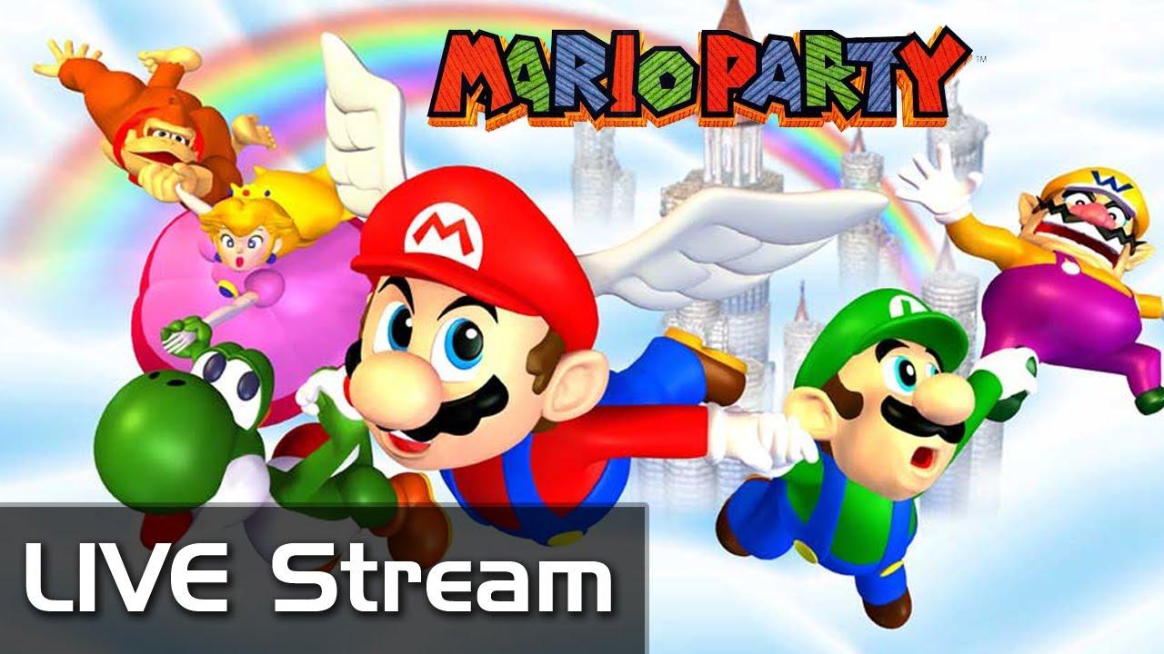 Mario Party N64 LIVE