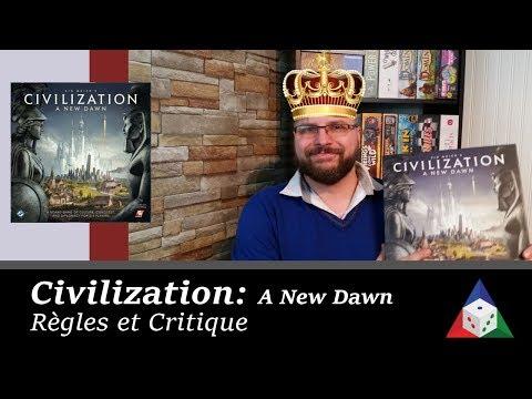 Civilization : A New Dawn - Règles et critique