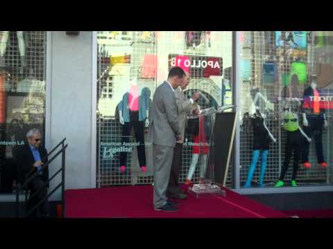 carl reiners speech at jon cryers star ceremony in hollywood 9 19 11