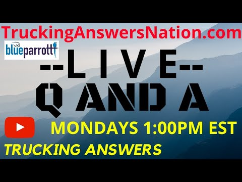 🔴Q And A Live Trucker Strike Yes Or No Mp3