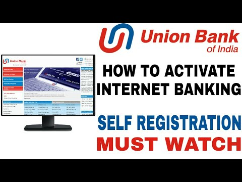 How to register internet banking of union bank of india (ubi.
