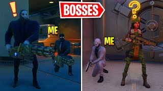 I Protected All BOSSES In Fortnite