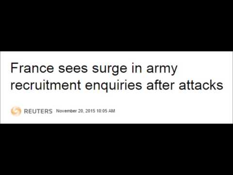 French Citizens Now Flooding Recruiting Offices to Fight?
