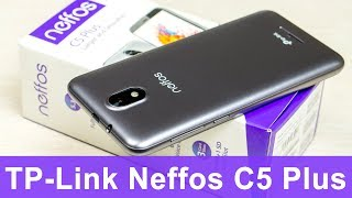 TP-Link Neffos C5 Plus - 3G смартфон c экраном 18:9 на Android Go