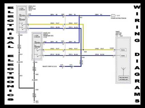 2003 Nissan Frontier Wiring Diagram Single Line Autocad Electrical 2004 2005 Repair Manual - Youtube