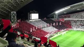 浦和レッズ 天皇杯決勝戦vsベガルタ仙台戦のコレオグラフィーです。浦和...