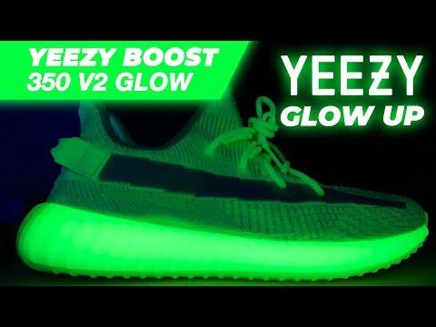 Adidas Yeezy Boost 350 V2 GLOW / GID / Glow in the Dark Yeezy's / GLOW UP / Glowing Yeezys