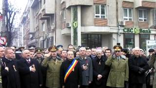 Intonarea imnului României 24 ianuarie 2013 ziuadecj ro