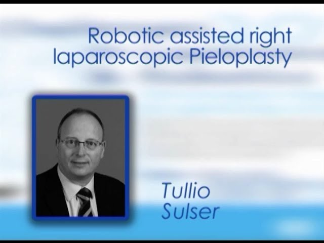CILR 2012 - Tullio Sulser - Robotic-assisted right laparoscopic pyeloplasty