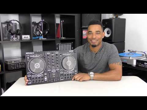 Roland DJ-202 Serato DJ Intro Controller Demo & Review Video