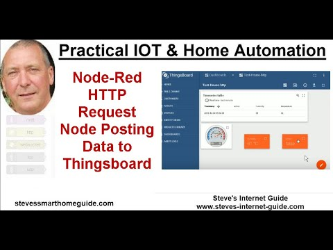 Node-Red HTTP Request Node Posting Data to Thingsboard