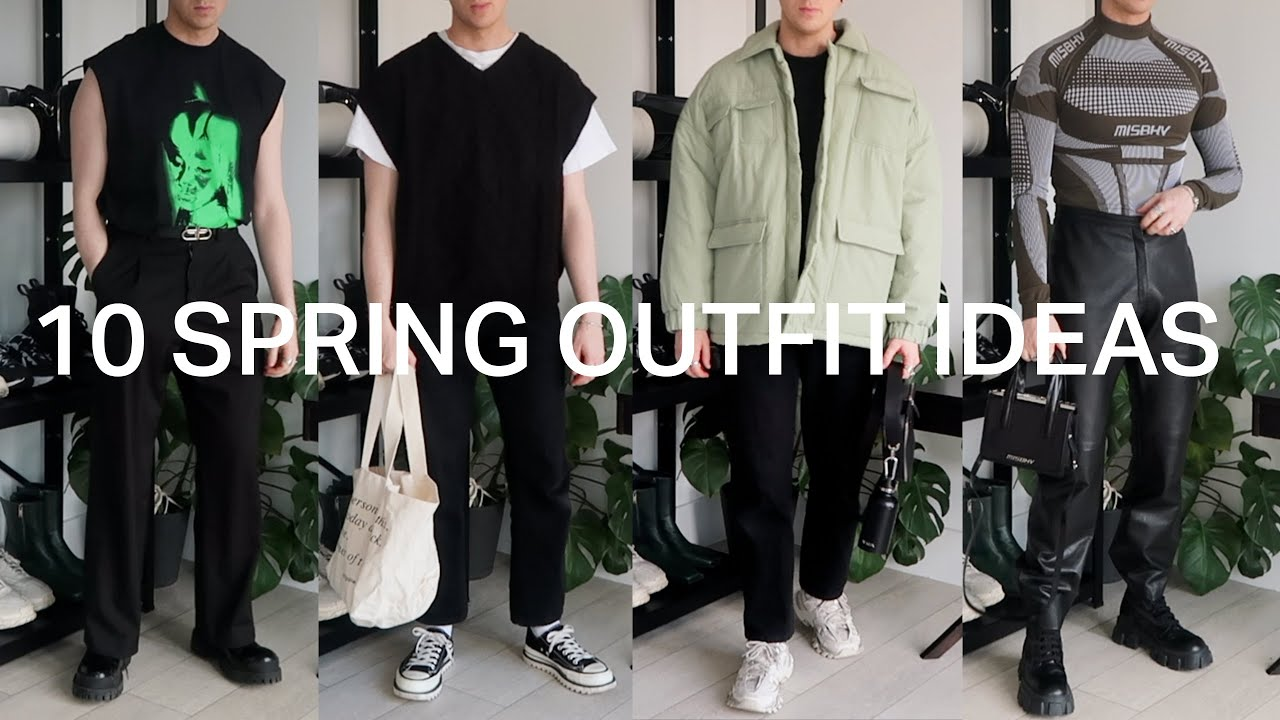 10 SPRING OUTFITS | MENS FASHION 2021 | OUTFIT IDEAS