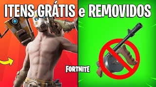 FORTNITE-FREE ITEMS, EVENT and DRUM REMOVED! -Patch 10.20