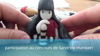 creation fimo PAC  poupées gorjuss en polymère