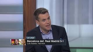Espn fc 10/28/208 - barcelona def. real madrid 5-1 post match analysis