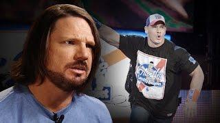 AJ Styles behauptet, er werde John Cena ''verachten'' WWE nach dem SummerSlam: Aug. 19, 2016