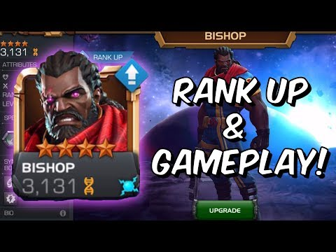 4 Star Bishop Rank Up, Abilities & Gameplay - Marvel Contest Of Champions