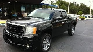 Autoline Preowned 2007 GMC Sierra 2500HD SLE2 For Sale Used Walk Around Review Jacksonville